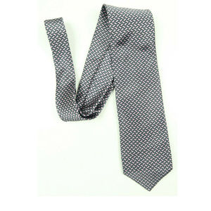 Robert Talbott Best of Class Gray Diamon Silk Tie